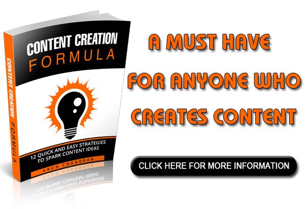 Content Creation Formula